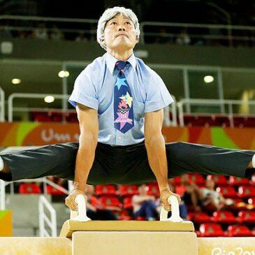 Donghua Li sorgt für Spektakel beim Showturnen